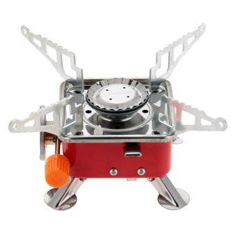 Harga [ READY STOCK ] Portable Collapsible Outdoor Backpacking Butane Gas Camping Picnic Card Stove Burner With Carry Case