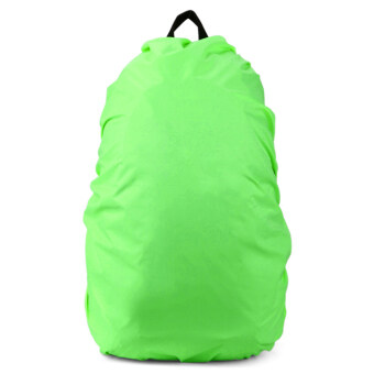 Harga Cyber Larger ONE 70L travel Backpack Rain Cover Bag Water Resist Proof small medium and largewaterproof Rain Cover Bag (Green)