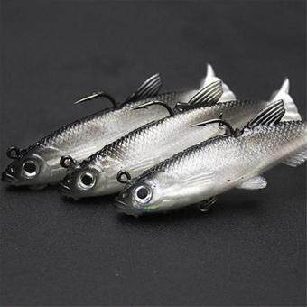 Harga Bluelans 1Pc Life-Like 8cm Fishing Lure Bait Tackle Crankbait Sharp Hook Minnow Tool