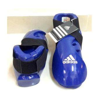 Harga Adidas Taekwondo Karate Silat ITF Gear Shoe Glove MMA Sport Foot Shoes BLUE M