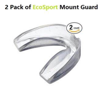 Harga EcoSport Sports Mouth Guards Athletic Boxing Basketball Teeth Mouth Guards (2 pcs in a pack)