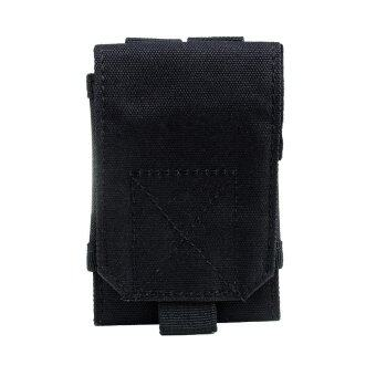 Harga Tactical Military Pouch Hip Molle Waist Bag cell Phone Case Cover Black