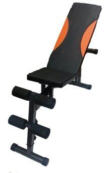 Harga Adjustable Sit Up Bench + Weight Bench (o)
