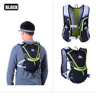 [ Immediate Delivery ] AONIJIE unning Cycling Vest Backpack Sports Camping Hydration Water Bladder Bag Black