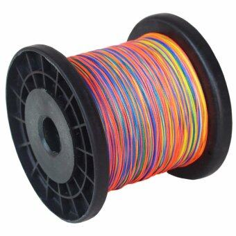 Japannese 8 Strands Braided Fishing line 500m Multi Color SuperStrong Multifilament PE Braid Line 30LB