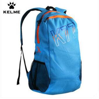 KELME Carl US sports shoulder bag men canvas backpack foot basketball bag casual travel student computer bag