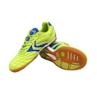 Kika 1504 Leather Futsal Shoes - Green