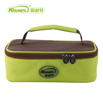 Kinnet green Japanese-style portable lunch bag