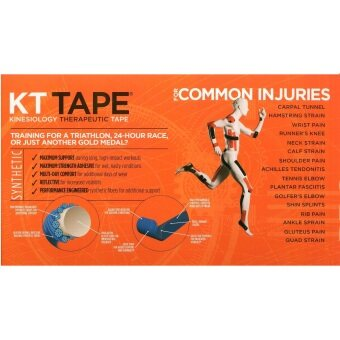 KT TAPE PRO Elastic Kinesiology Therapeutic Tape - 20 Pre-Cut 10-Inch Strips (100% Original) - 3