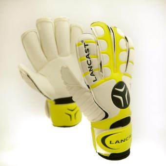 Lancast Goal Keeper Gloves - TECHNIQUE (YELLOW/BLACK/White) Size 7