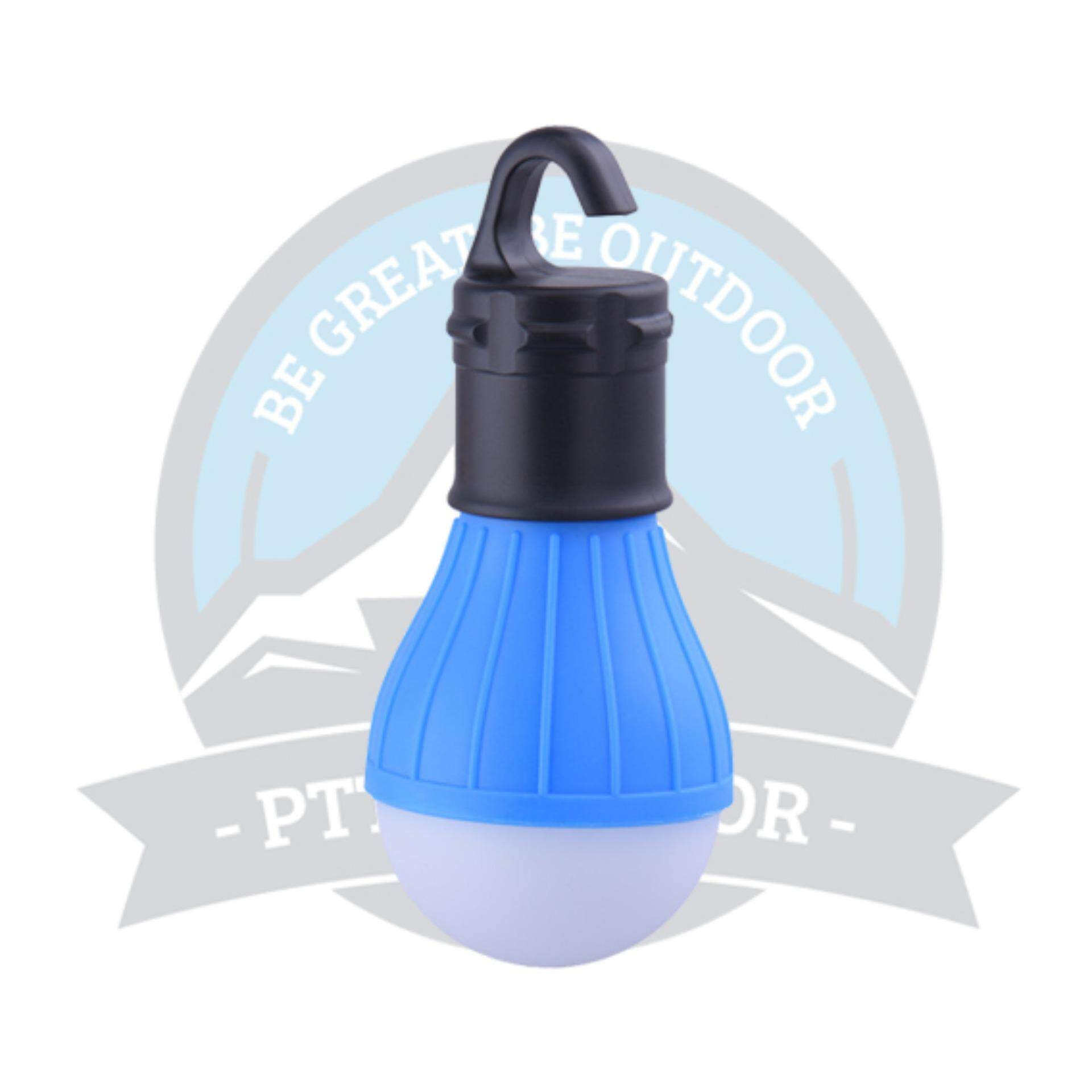 [READY STOCK] LED Tent Light Hanging Lantern Handy Warm Lamp For Hiking, Camping Or Outdoor Activities - BLUE