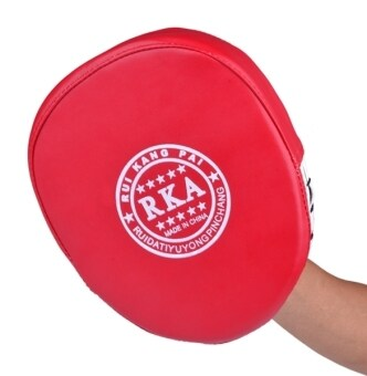 LoveSport Boxing Mitt Training Target Focus Punch Pad Glove MMAKarate Muay Kick Kit (Red) - 2