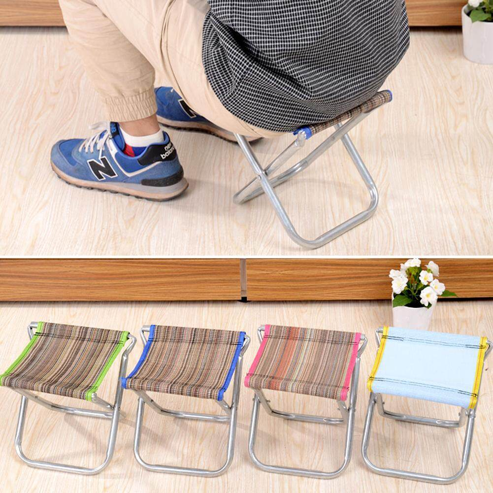 Makiyo Foldable Bench Portable Stool Outdoor Fishing BBQ Traveling Necessity - intl