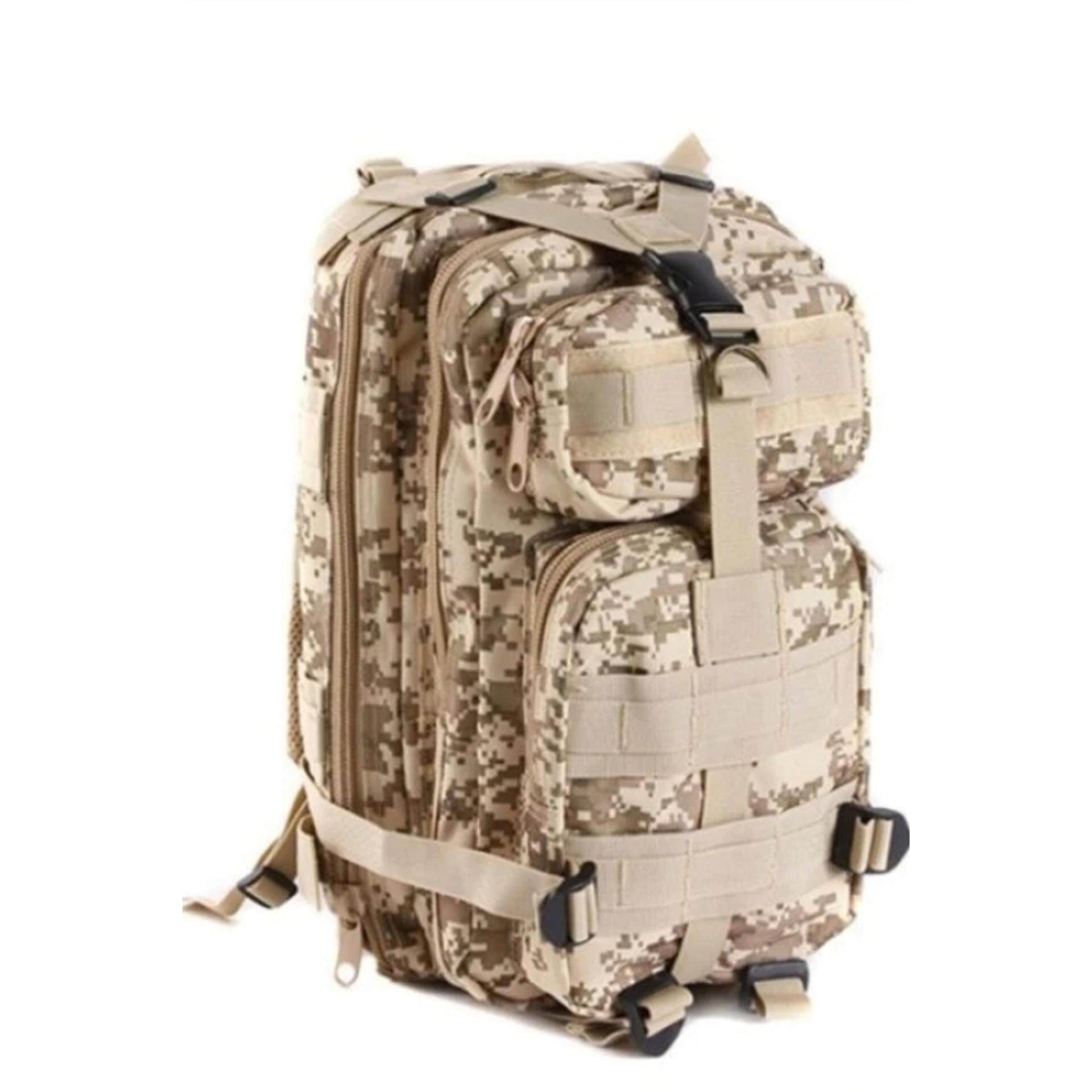 Military 3P Attack Tactical Backpack SWAT Bag Hiking Beg 25L (Acu camo)