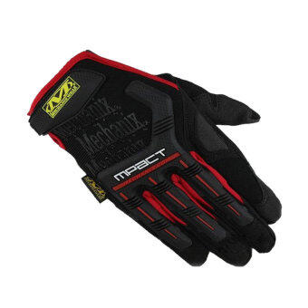 Moonar Sports Motorcycle Gloves (Red) - 3
