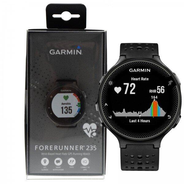 [NEW]Garmin Forerunner 235 Running Wrist-Based HR Watch (Grey/Black) by Garmin Malaysia