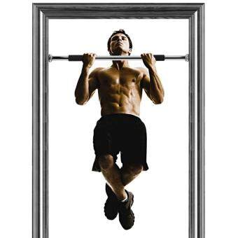 New Iron Gym Pull Up Bar Door Gym Bar Chin Up Bar Push Up Bar Iron Gym Exercise Equipment (100kg)