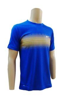 Harga Nike 087 Dri Fit T-Shirt (Blue)
