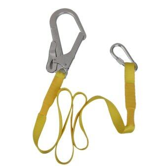 Outdoor Climbing Safety Harness Belt Lanyard With Carabiner Buckle | Lazada Malaysia
