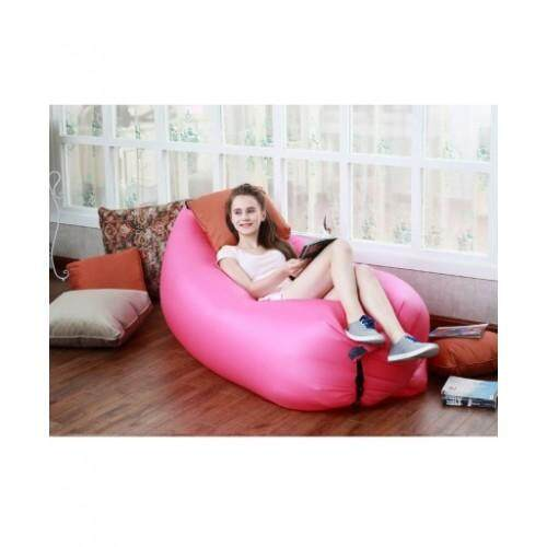 OUTDOOR INFLATABLE BED  Pink