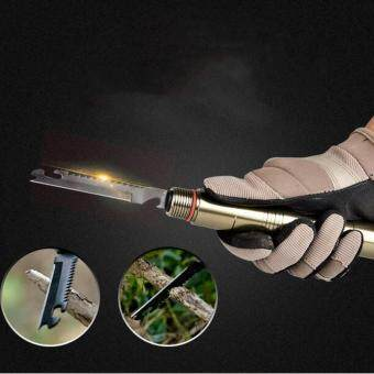 Outdoor Self-defense Sorts Multifunctional Collapsible Self-defenceStick for Camping Self-driving Camping Survival Equipment - 3