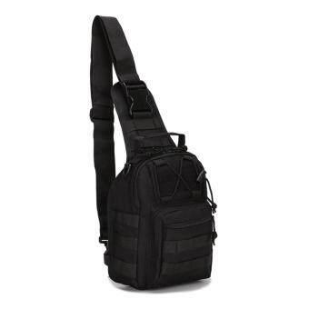 Outdoor Sports Canvas Men Single Shoulder Bag Backpack riding bagcamouflage shoulder oblique cross outdoor tactical chest bag