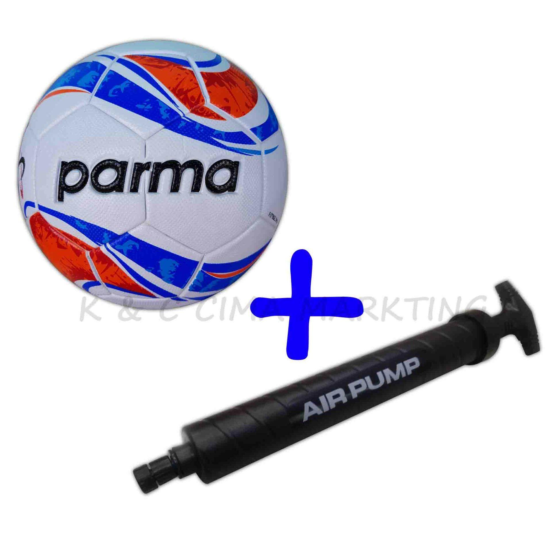 Parma Laminated Football Size 5 889 With Double Action Hand pump