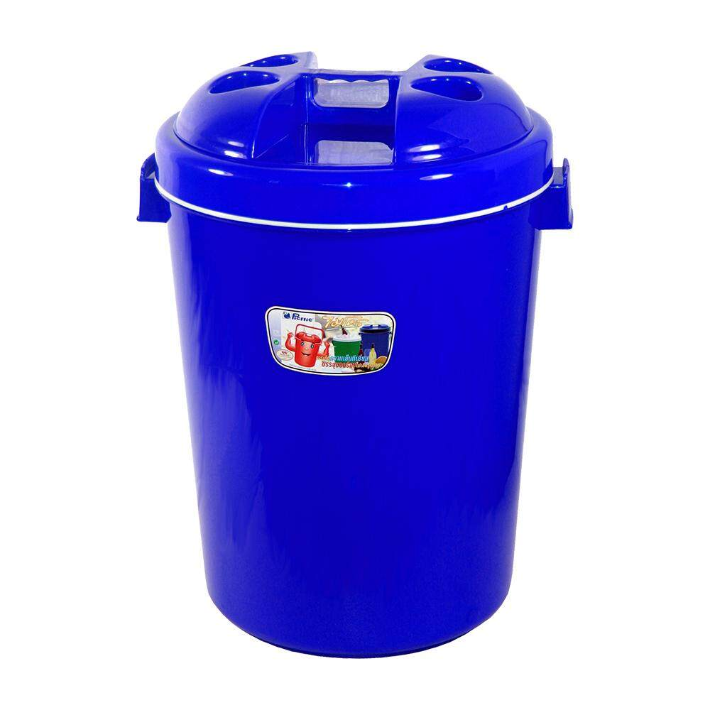 Picnic Insulated Bucket Plastic 27L - Blue