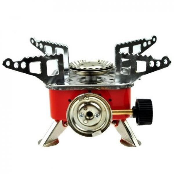 Portable Butane Gas Card Type Campaign Outdoor Stove Burner