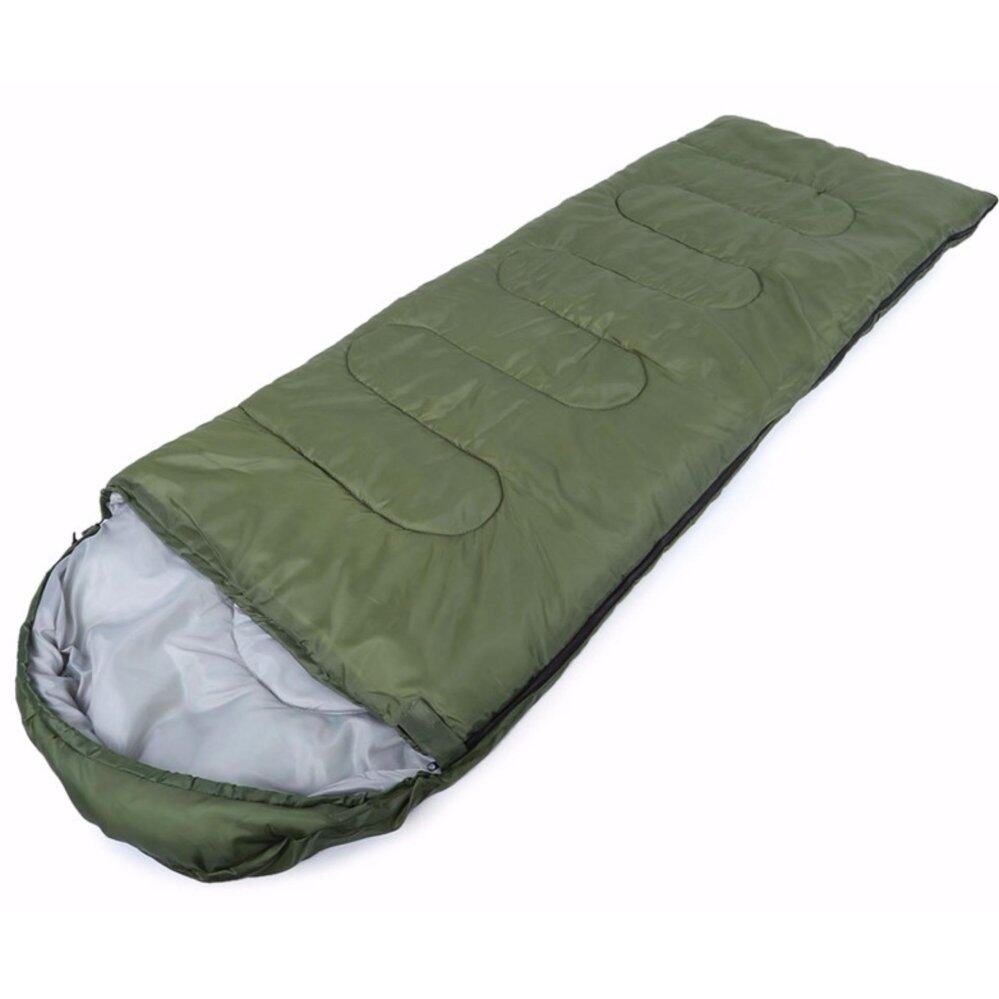 [READY STOCK] Portable Envelope Sleeping Bag Mat Blanket for Outdoor Camping and Hiking - GREEN