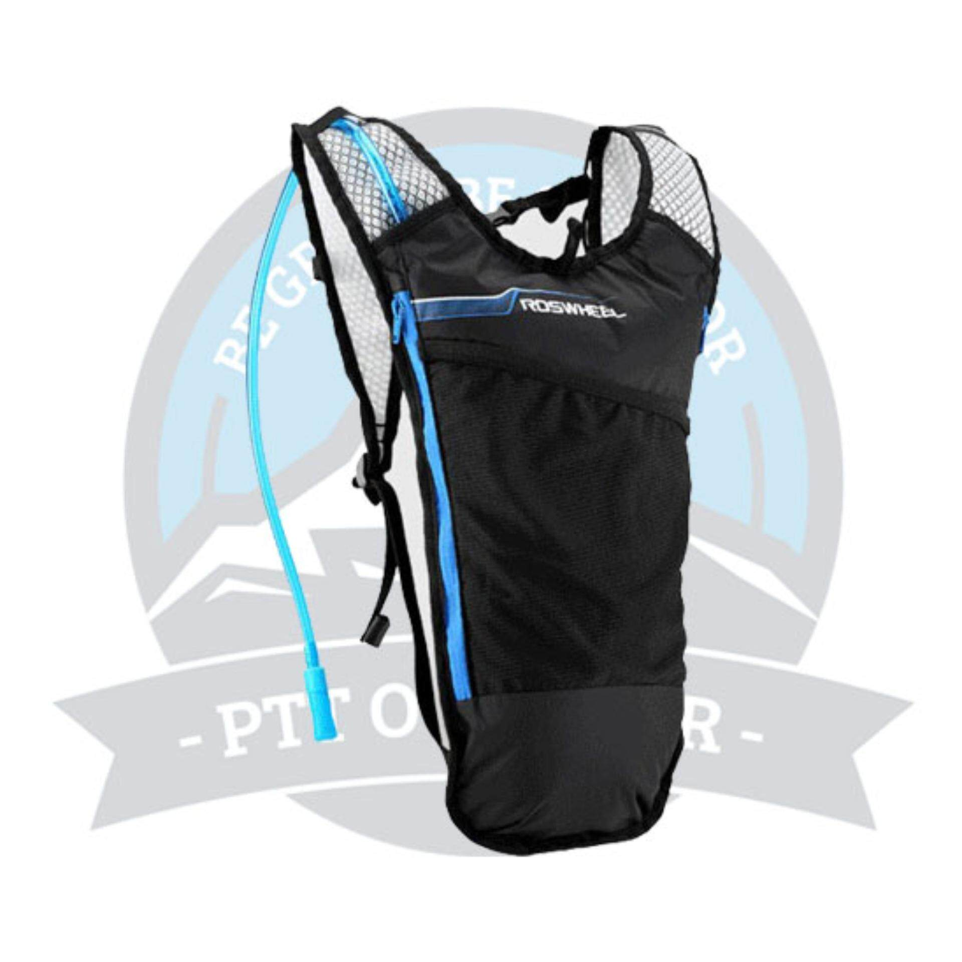 [FREE DELIVERY] ROSWHEEL HYDRATION BACKPACK HYDRATION BAG + FREE 2L WATER BLADDER - BLUE