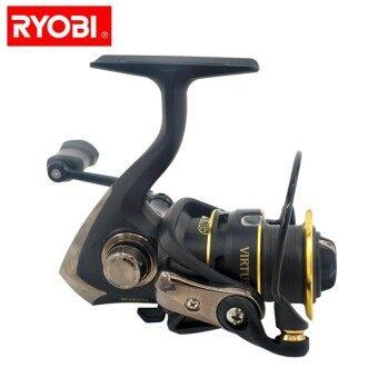 RYOBI VIRTUS Aluminum Spool Composite Body And Rotor Silent Smooth Work 4 1 BB Spinning
