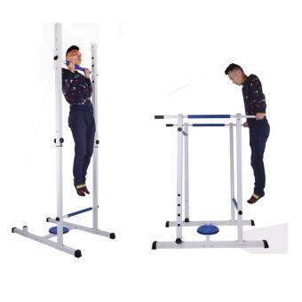 SellinCost 2in1 Height Growth Gymnastic Rack Chin Up Dip Tower Parallel Bar Leg Raise Twister Multi Function Family Yoga Gym