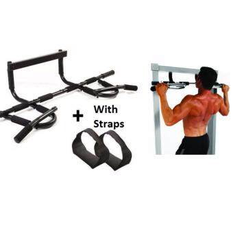 SellinCost Quality Iron Gym Xtreme with Ab Straps Door Gym Upper Body Chin Pull Up Arm Workout