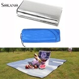 (RAYA 2019) SOKANO 200cm x 200cm Extra Large Size Outdoor Waterproof Double Sided Aluminium Foil Mat (Free Pouch)