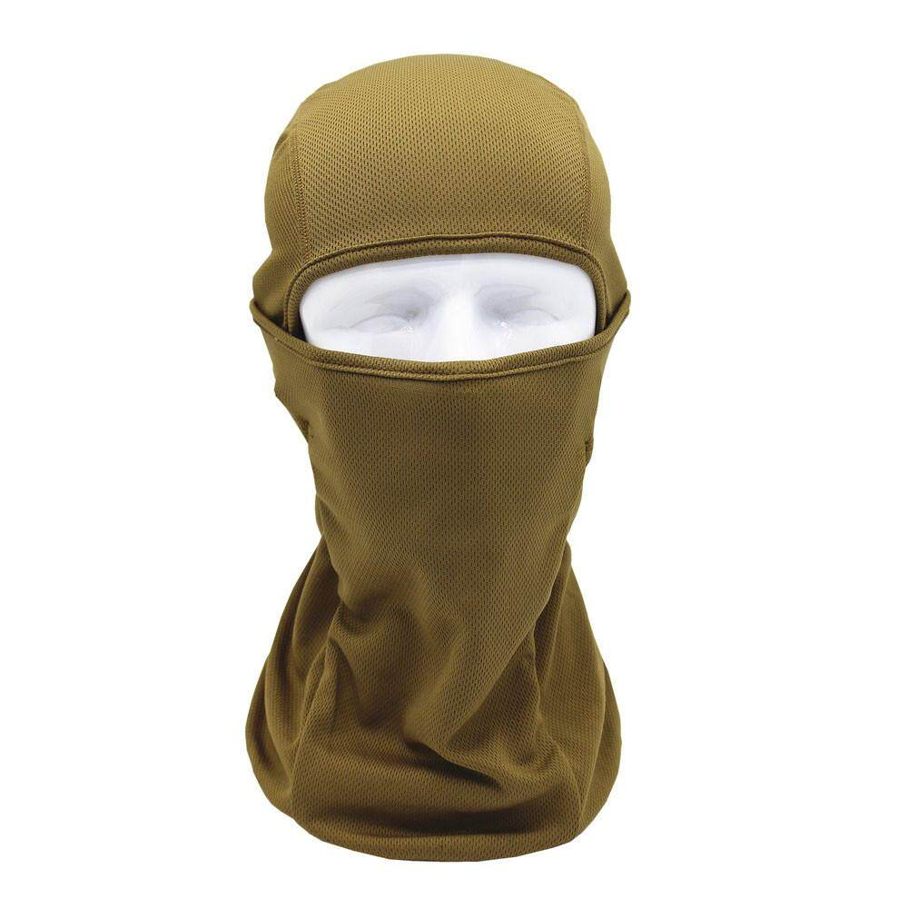 Tactical Motorcycle Cycling Hunting Outdoor Ski Full Face Mask Helmet - intl