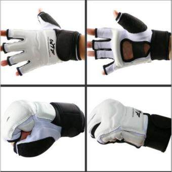 Harga Taekwondo Glove Fighting Hand Protector WTF Approved Martial ArtsSports Hand Guard Boxing Gloves Hand Protective Tool