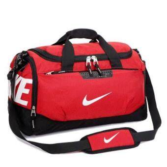 Harga Team Max Air Live Strong Training Sport Travel Jogging Gym DuffelBag Bags (RED)