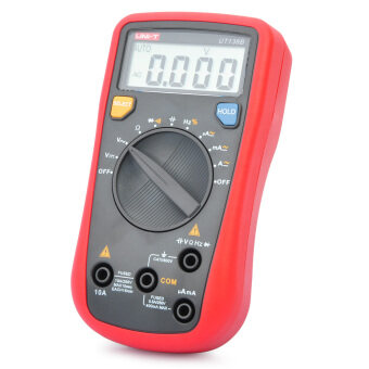 "UNI-T UT136B 2.0"" LCD Digital Multimeter - Red + Grey (1 x 9V)"