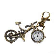 Penawaran Istimewa Koleksi Unik Paduan Perunggu Kuarsa Sepeda Jam Saku Liontin Kalung Terbaru