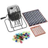 Deluxe Wire Cage Bingo Set