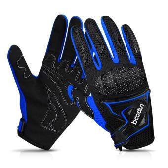 Winter Cycling Gloves Full Finger Windproof Warm Hand Riding Gloves Anti-skid Cold Weather Breathable