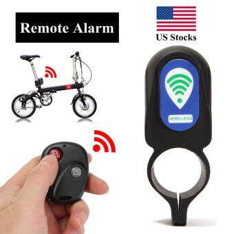 Harga Wireless Remote Control Anti-theft MTB Cycling Security AudibleSound Lock Guard Bike Bicycle Alarm Siren Shock Vibration Sensor