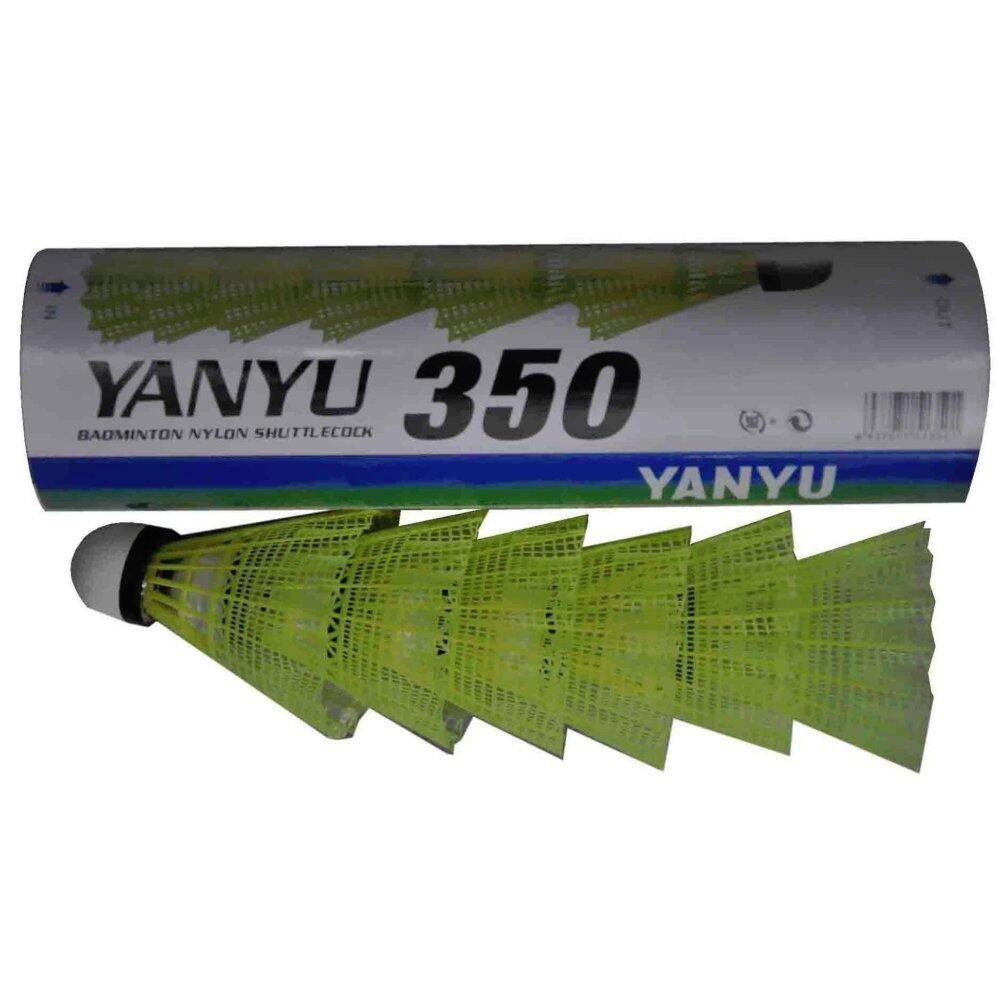 Yanyu Nylon Plastic shuttlecock 350 (12 pcs)