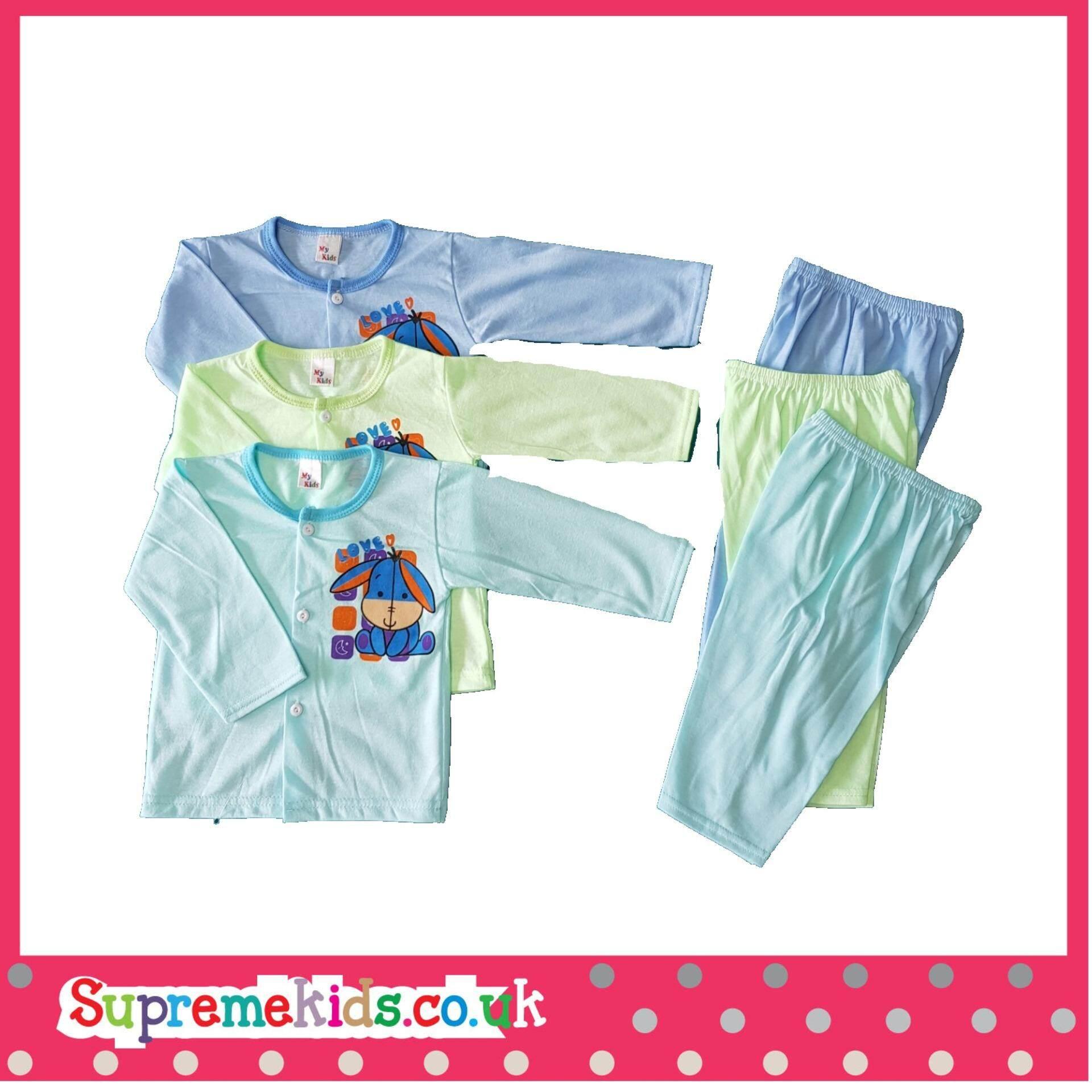 02bd1b1c81888 6PCS Baby Clothes 0-12M cartoon newborn clothing set cotton new ...