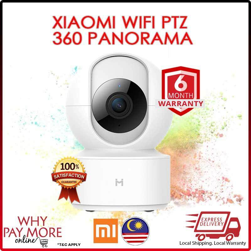 [RAYA GUARD YOUR HOME][Original] Xiaomi Mijia Xiaobai Smart 1080P Ip Camera PTZ WIFI 360 Degree Panorama home security Webcam