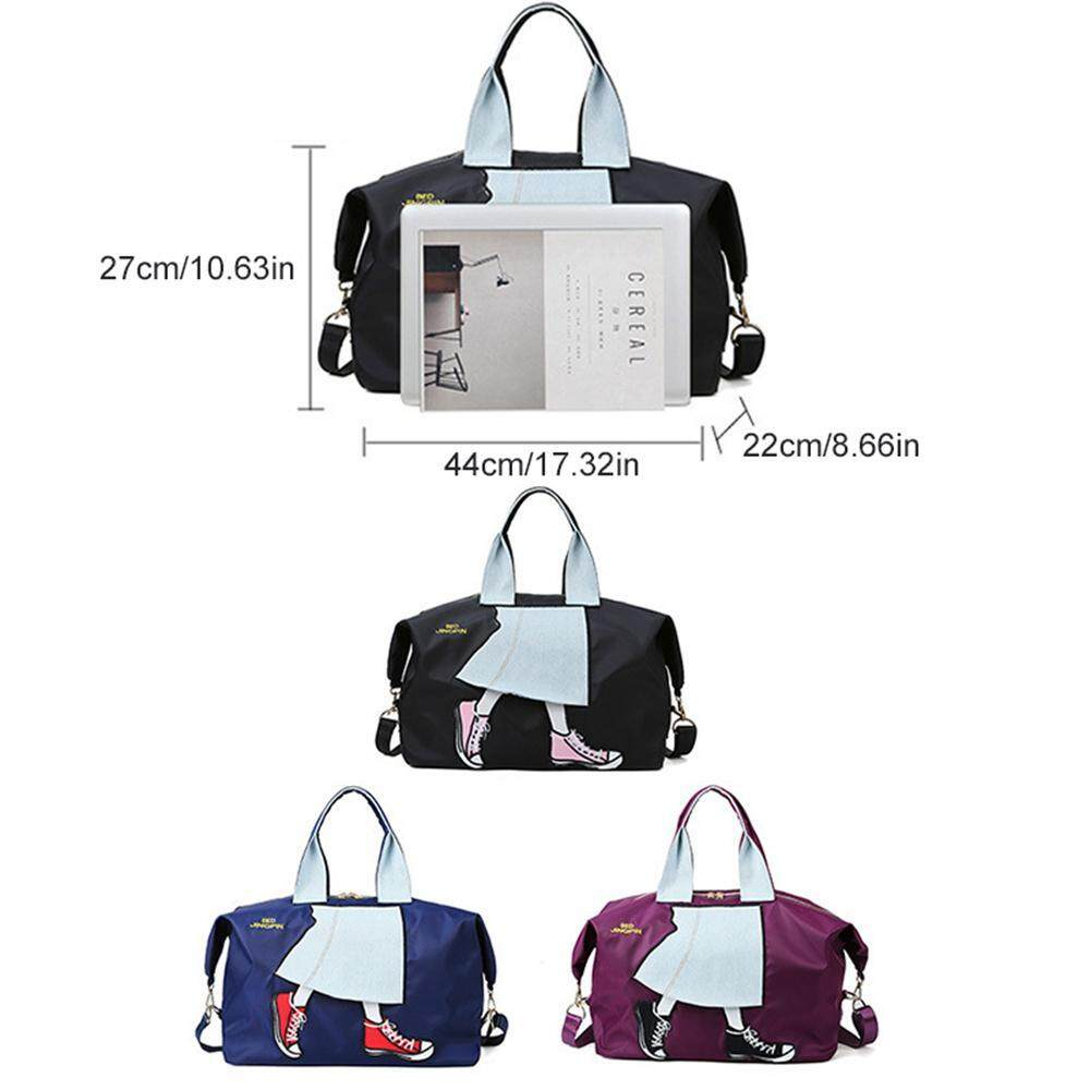 Travel Luggage Duffle Bag Lightweight Portable Handbag Beer Pattern Large Capacity Waterproof Foldable Storage Tote