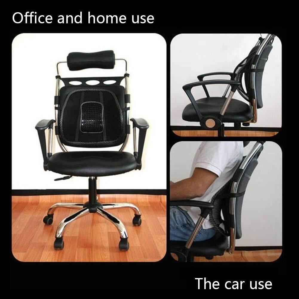 ... Mesh Pinggang Punggung Brace Penopang Office Home Kursi Jok Mobil Bantal Dingin 4
