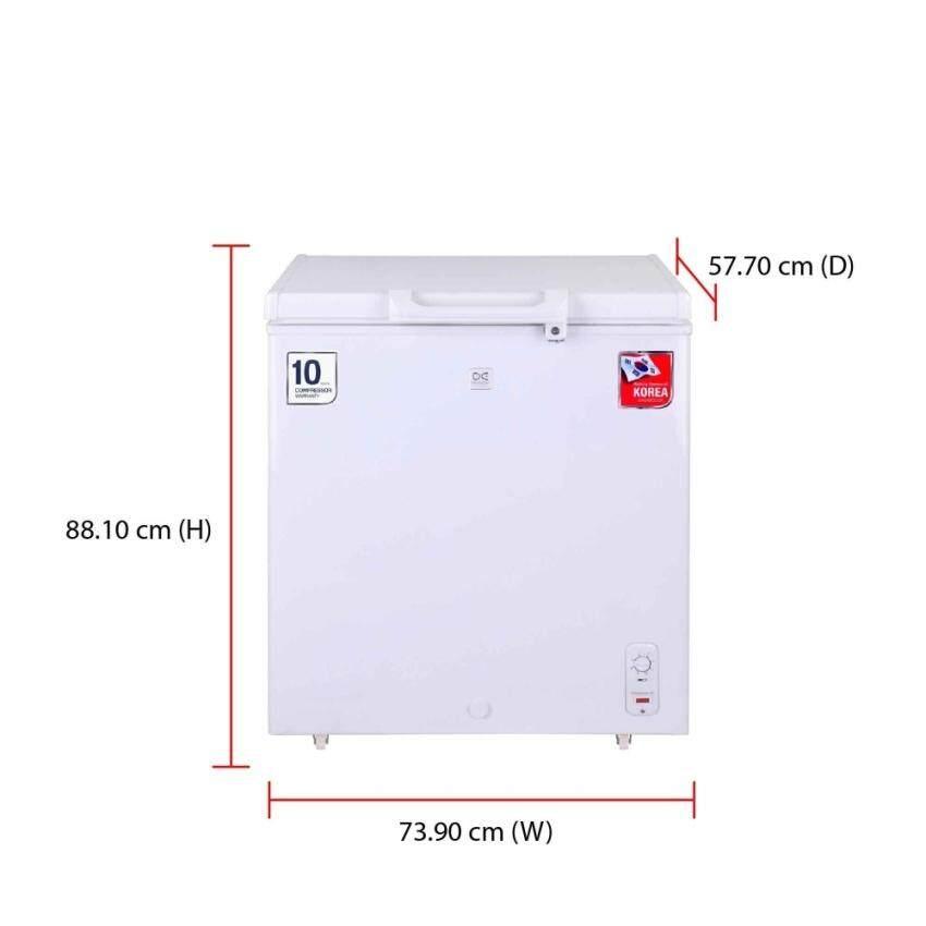 Daewoo Chest Freezer DCF-200W (150L)