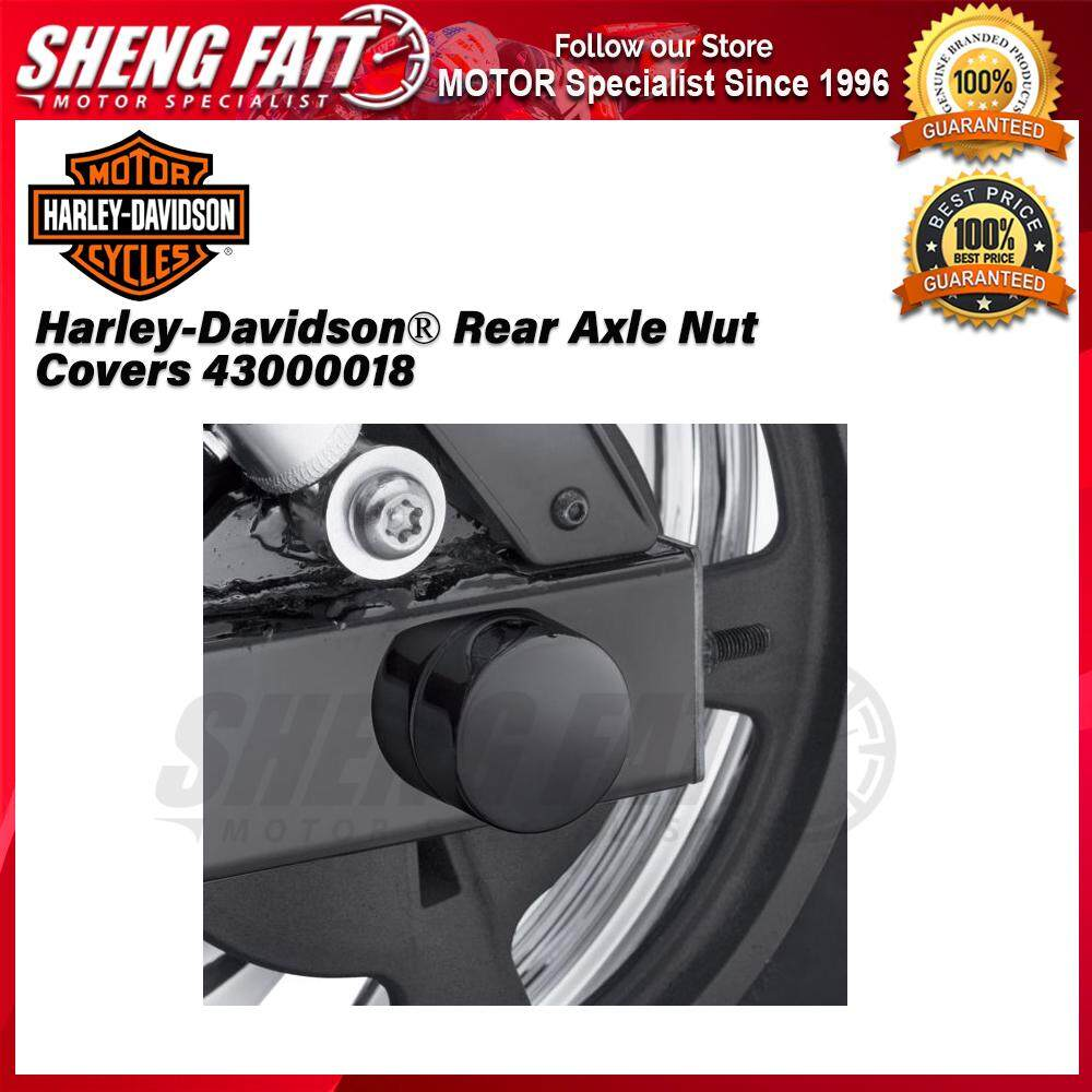 Harley-Davidson® Street™ Rear Axle Nut Covers 43000018